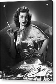 Five Came Back, Lucille Ball, 1939 Acrylic Print by Everett