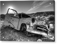 Fixer Upper Acrylic Print by Bob Christopher