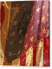 Flag 16 Acrylic Print by Gary Everson