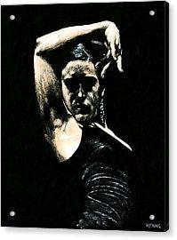 Flamenco Soul Acrylic Print by Richard Young