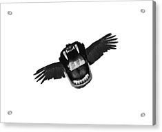 Flappy Mouth Acrylic Print by Nicholas Ely
