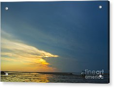 Flats Of Brewster, Cape Cod Acrylic Print by Diane Diederich