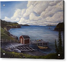 Flavor Of Newfoundland Acrylic Print by John Reid