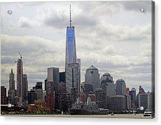 Fleet Week 2015 New York Harbor Acrylic Print by Geraldine Scull