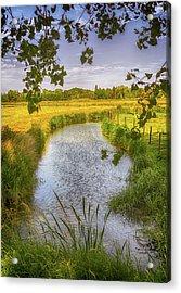 Flemish Creek Acrylic Print by Wim Lanclus