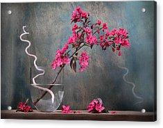 Fleur Acrylic Print by Manfred Lutzius