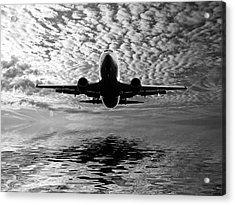 Flight Path 2 Acrylic Print by Sharon Lisa Clarke