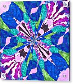 Floral Thing Acrylic Print by Susan Leggett