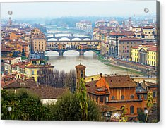 Florence Italy Acrylic Print by Photography By Spintheday