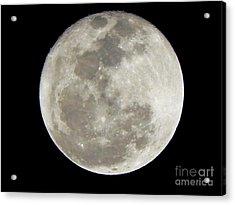 Florida Moon 2-28-2011 Acrylic Print by Jack Norton