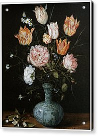 Flower Piece Acrylic Print by Jan Brueghel The Elder