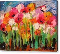 Flowers Acrylic Print by John Williams