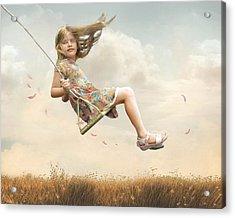 Flying Acrylic Print by Joel Payne