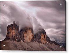 Foggy Cover Acrylic Print by Damiano Serra