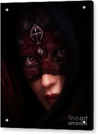 Follow Me Gothic Romance Acrylic Print by Shanina Conway