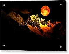 Follow Your Inner Moonlight Acrylic Print by Michele Cornelius