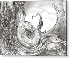 Fomorii Incubator Acrylic Print by Otto Rapp