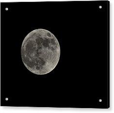 Fool Moon Acrylic Print by Joshua Massenburg