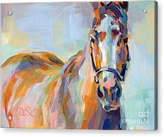 For Her Eyes Only Acrylic Print by Kimberly Santini
