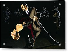 For The Love Of Tango Acrylic Print by Richard Young