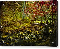 Forbidden Bridge  Acrylic Print by Svetlana Sewell