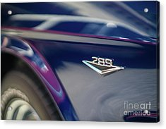 Ford Mustang 289  Acrylic Print by Mike Reid