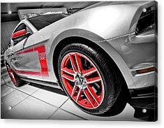 Ford Mustang Boss 302 Acrylic Print by Gordon Dean II