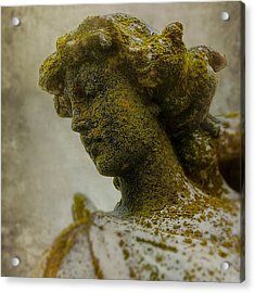 Forgotten Angel Acrylic Print by Greg Collins