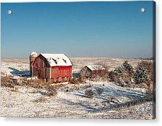Forgotten Farm Acrylic Print by Todd Klassy