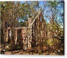 Forgotten Acrylic Print by Jeff Kolker