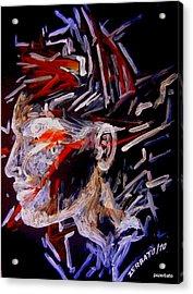 Forming Opinions Acrylic Print by Paulo Zerbato