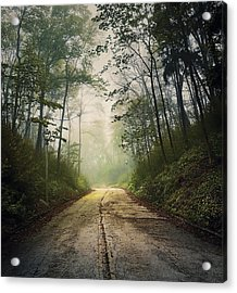 Forsaken Road Acrylic Print by Scott Norris