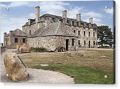 Fort 5 Acrylic Print by Peter Chilelli