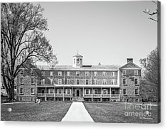 Haverford College Founders Hall  Acrylic Print by University Icons