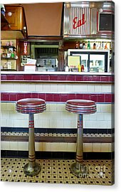 Four Aces Diner Acrylic Print by Edward Fielding