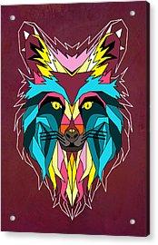 fox Acrylic Print by Mark Ashkenazi
