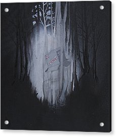 Fragile Acrylic Print by Konrad Geel
