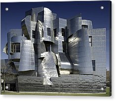 Frank Gehry Designed The Frederick R Acrylic Print by Everett