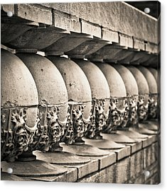 Frank Lloyd Wright's Architecture Acrylic Print by Niels Nielsen