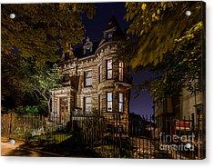 Franklin Castle  Acrylic Print by Frank  Cramer