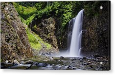 Franklin Falls Acrylic Print by Pelo Blanco Photo