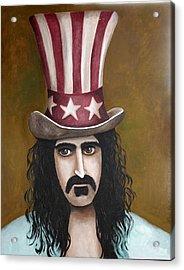Franks Hat Acrylic Print by Leah Saulnier The Painting Maniac