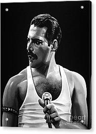 Freddie Mercury  Acrylic Print by Meijering Manupix