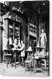 Frederic-auguste Bartholdi Acrylic Print by Granger