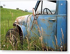 Free Parking Acrylic Print by Doug Hockman Photography