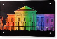 Freedom House Acrylic Print by Marvin Pike