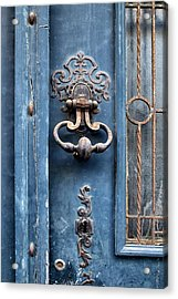 French Door Detail Acrylic Print by Georgia Fowler