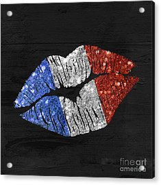 French Kiss Acrylic Print by Mindy Sommers