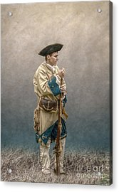 French Soldier French And Indian War Acrylic Print by Randy Steele