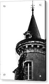 French Turret Acrylic Print by Georgia Fowler